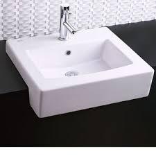 Install Overmount Bathroom Sink by Modern Drop In U0026 Self Rimming Bathroom Sinks Allmodern