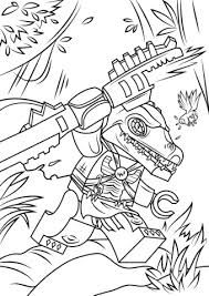Click To See Printable Version Of Lego Chima Cragger Coloring Page