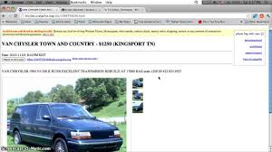 100 Craigslist Knoxville Cars And Trucks Bristol Tennessee Used And Vans For Sale