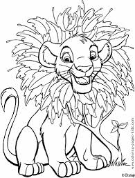 Revenge Story Of Simba The Lion King 20 Coloring Pages