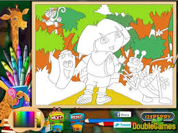 Coloring In Games Inspiration Graphic Pages Free Online
