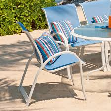 Sling Back Stackable Patio Chairs by Green Sling Stackable Patio Chair Patio Outdoor Decoration