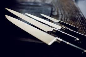 coutellerie cuisine couteaux de cuisine perceval acier a photo de atelier