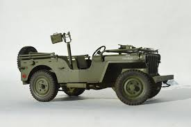New 1:6 Scale Truck Willys Jeep Handmade Metal Model