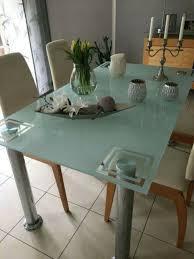 möbel kraft esstisch glastisch stühle esszimmer wohnzimmer tisch