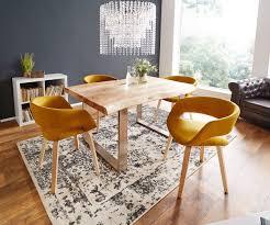 esszimmerstuhl glendale curry holzbeine natur möbel stühle