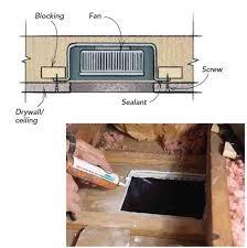 2x2 Ceiling Tile Exhaust Fan by Bathroom Exhaust Fans Greenbuildingadvisor Com