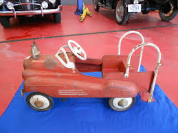 1940s MURRAY FIRE PEDAL CAR | BuffysCars.com Antique Hook And Ladder Fire Truck Pedal Car 275 Antiques For Price Guide American Fire Truck Pedal Car Second Half20th Restoration C N Reproductions Inc Instep Riding Toy Hayneedle Childs Red Toy Pedal Car Based On An American Fire Truck Amazoncom Instep Toys Games 60sera Blue Moon Gearbox Vintage Firetruck Cars Pinterest Cars Withrows Body Shop Rare Large Structo Jeep Red Firetruck With Airbags Stuff
