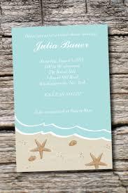 Wedding InvitationsSimple Beach Shower Invitations Design Ideas Fashion Simple