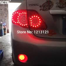 scoe 2x car styling 30smd o led brake parking light bulb for