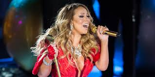 Rockefeller Christmas Tree Lighting Mariah Carey by Mariah Carey Struggles Through U0027all I Want For Christmas U0027 Huffpost