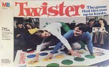MTB Boardgame Twister 1974 Edition Box Fair