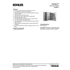 Kohler Verdera Medicine Cabinet 15 X 30 by Kohler K 99010 Na Verdera Medicine Cabinet Best Cabinet Decoration