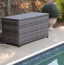 furniture suncast deck box patio storage containers resin