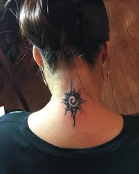 Girl Neck Tattoos Designs Ideas And Meaning