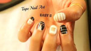 4 Easy And Quick Tape Nail Art Designs For Short Nails | Nail Art ... Easy Nail Designs For Short Nails To Do At Home Choice Image Fantastic S Photo Ideas Plain 126 Polish Green Flowers Art Cute Teen Easy For Beginners Easyadesignsfsrtnailsphotodwqs Glomorous Along With Without 17 Diy 4th Of July Boholoco Toes Best Images About Nail Designs Classic Designing Arts And Design