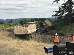 100 Railroad Truck Gravel Truck Blocks Railroad Traffic In Washougal The Columbian