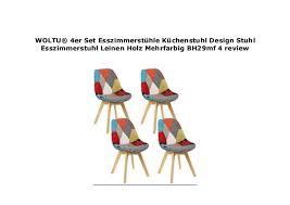 woltu 4er set esszimmerst hle k chenstuhl design stuhl