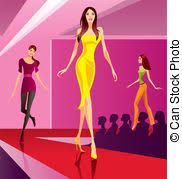 Fashion Clipart Runway Model 3