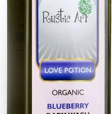 Rustic Art Organic Blueberry Baby Wash