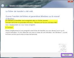 transfert de si e dupliquer un compte utilisateur par transfert de fichiers et