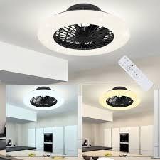 etc shop deckenventilator deckenventilator mit beleuchtung und fernbedienung leise deckenleuchte mit ventilator dimmbar sterneneffekt cct nachtlicht
