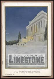 Front Cover Of Indiana Limestone The Aristocrat Building Materials
