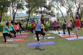 Outdoor Yoga With Prajna