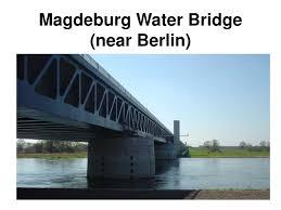 100 Magdeburg Water Bridge PPT Near Berlin PowerPoint Presentation