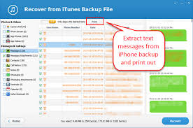 4 Free Ways to Print Text Messages from iPhone 6 6S 7 8 X
