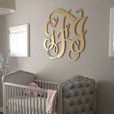 Reasonably priced monogram wood letters and other monogrammed