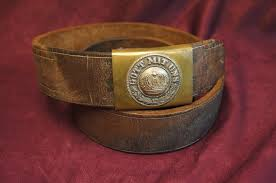 smgb 02 ww1 prussian e m belt with buckle reduced war