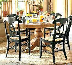 Pottery Barn Round Dining Table Knockout Knockoffs Pedestal Room Inspiration Used