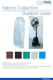 Cheap Patio Misting Fans by Protective Cover For Mist Fan U2013 C U0027estkool