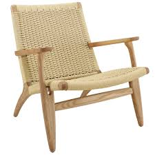 Milan Direct Hans Wegner Replica CH25 Easy Woven Chair & Reviews ... Shop Midcentury Lounge Chair By Baxton Studio Free Shipping Today Bernard Lounge Chair Nordic New Amaze Viesso Vitra Eames Ottoman American Cherry Wood Leather Field Modern Blu Dot Black Mhattan Home Design Canyon Vista And Reviews Joss Main Herman Miller Amouri Set Of 2 Cushions In Pacific Blue Bella