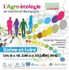 chambre agriculture bourgogne l agro écologie en marche en bourgogne fédération départementale