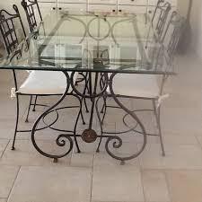 achetez table et chaises fer occasion annonce vente à aramon 30