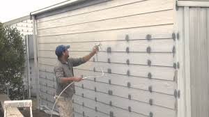 Best Hvlp Sprayer For Cabinets by How To Spray Paint A House With The Best Paint Sprayer Sprayertalk