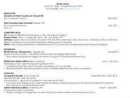 Ideas Of Internship Resumes Computer Science Fantastic Sample Resume For In Puter