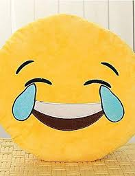 Amazon ANDP 13 Inch Emoji Smiley Emoticon Yellow Round