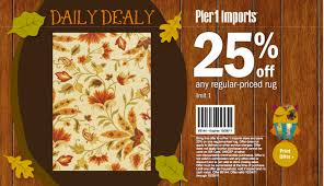 Pier 1 Daily Deal  f Rugs