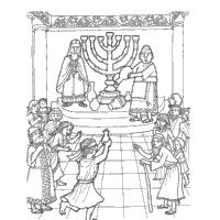 Hanukkah Coloring Pages Fun