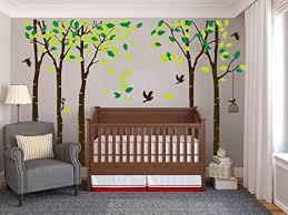 wandaufkleber mit baum motiv für wohnzimmer kinder