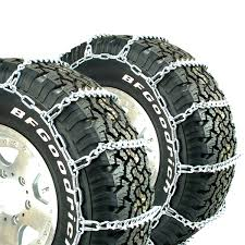 100 Truck Tire Chains Titan VBar Ice Or Snow Covered Roads 7mm 9225