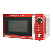 Nostalgia RMO770RED Retro Series 07 Cubic Foot Microwave Oven