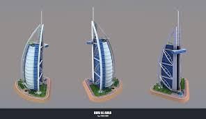 100 Burj Al Arab Plans ArtStation Fidel Hau