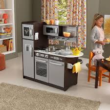 Amazon KidKraft Uptown Espresso Kitchen Toys Games