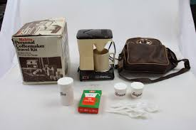 Vintage Melitta Personal Coffee Maker Travel Kti