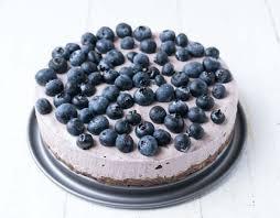 no bake acai heidelbeer torte