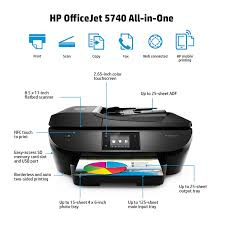 Amazon HP OfficeJet 5740 Wireless All In One Photo Printer With Mobile Printing Instant Ink Ready B9S76A Electronics